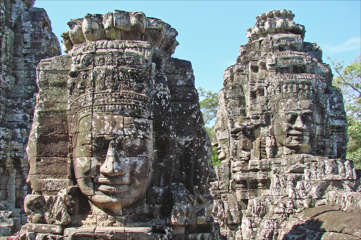 Angkor Thom - Le Temple Bayon