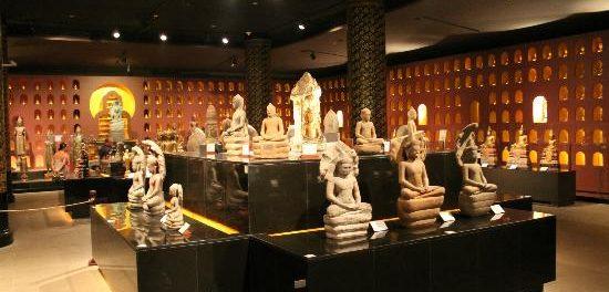Musée national d'Angkor, l'histoire de la civilisation khmère