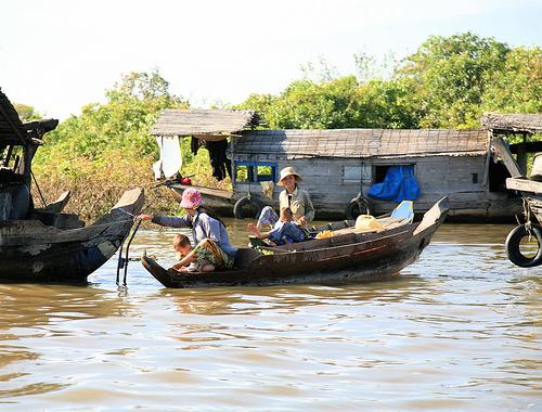 Ville de siem reap - Tonlé Sap