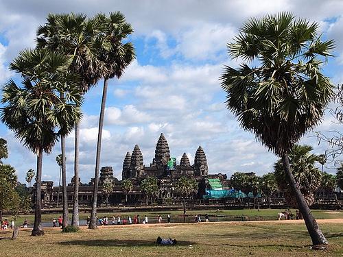 Ville de siem reap - Site d'Angkor