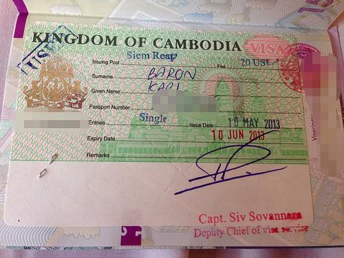 Visa pour le Cambodge - Séjour au Cambodge
