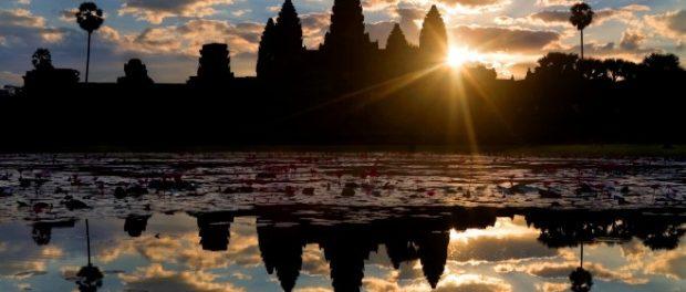 Angkor Vat - Le lever de soleil