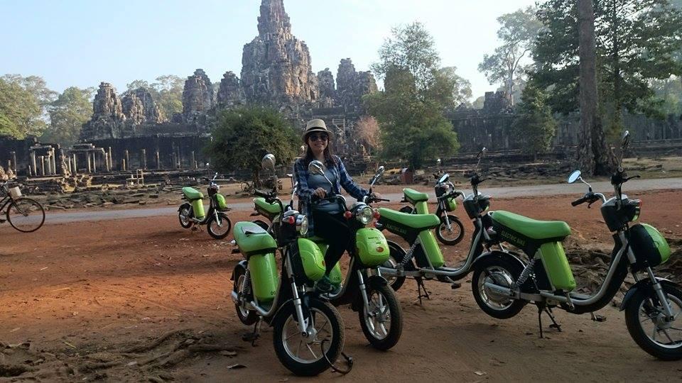 Siem reap – Vélo électrique Green e-bike