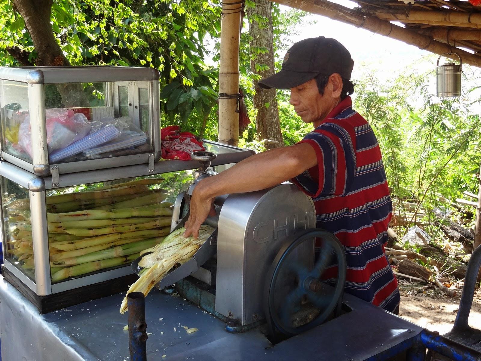 Jus de canne à sucre – Cambodge